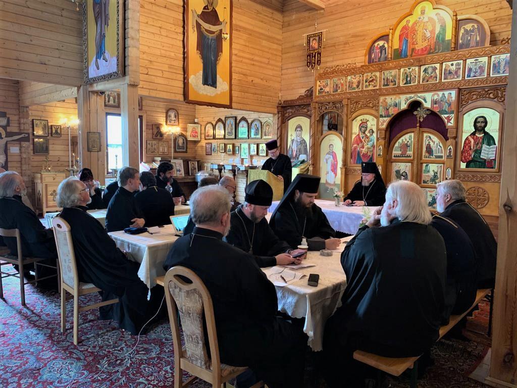 16 июля 2020 г. Совещание духовенства в Берлине