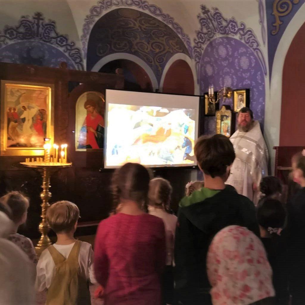 8.о1.2021 г. «Детская литургия» в Храме-памятнике.